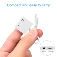 5 3 2 In 1 For Lightning To Audio Charging Adapter,For Lightning To 3.5 mm Headphone Aux Jack Adapter For iPhone X/XS/8/6/6S/7P/8P/7 (3)