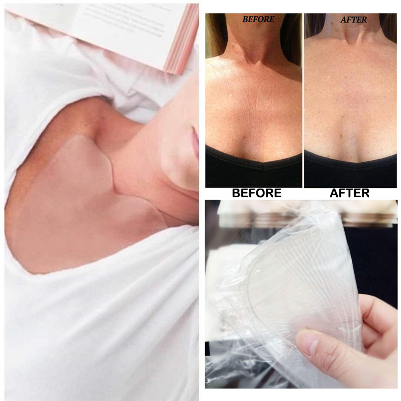 Anti Wrinkle Chest Pad to Prevent and Eliminate Wrinkles 100% Grade Silicone Skin Beauty Care Protect Lines 4