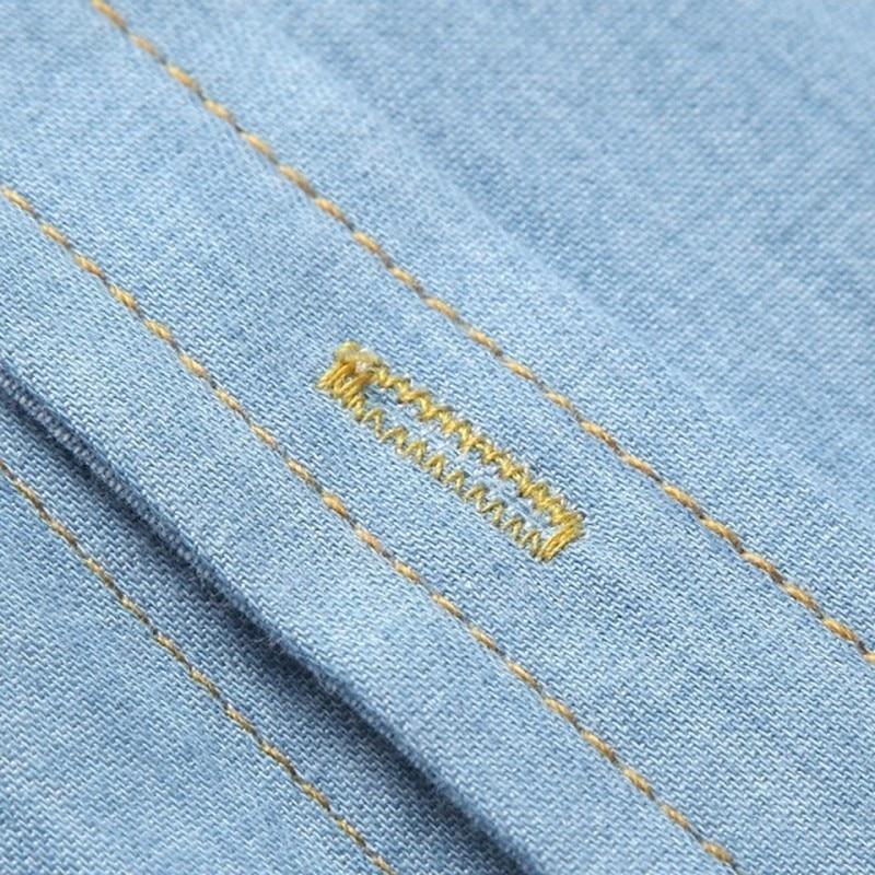 Brand Men Shirt Jeans Shirt Men Long Sleeve Turn-down Collar Cotton Shirt Male Slim Fit Camisa Masculina Casual Men Shirts Model 8