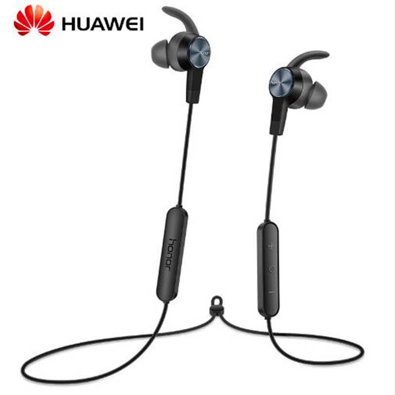 Oryginalny Huawei Honor xSport słuchawki Bluetooth AM61 IPX5 wodoodporna muzyka Mic Control bezprzewodowy słuchawki do Xiaomi Android IOS