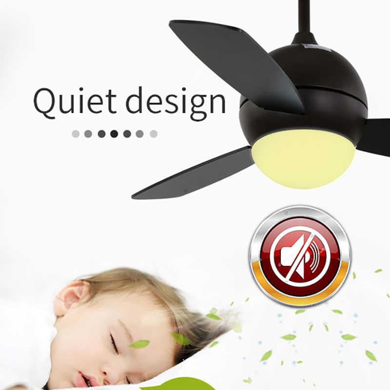36 дюймов Nordic Макарон исследование светодиодный вентилятор света творческий разноцветный Гостиная Ресторан свет, комнаты малыша свет