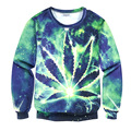 Fashion Autumn and winter Men Women 3D Pullover Hoodie Weeds constellation Printed Sweatshirts Long Sleeve Crew Neck Casual Swea