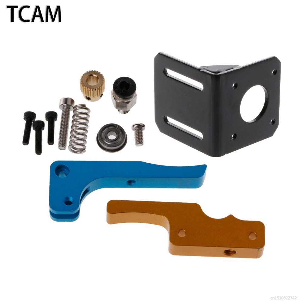 TCAM Remote Feed Extruder Distal Extrusion Head Full Metal Wire Feeding Machine 1.75mm 3D Printer Parts For Anet A8 Prusa I3
