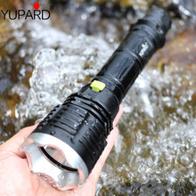 YUPARD XM L T6 led トーチ懐中電灯ダイビングランプダイバー釣りランタン水中防水 26650 18650 バッテリー