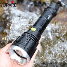 YUPARD torche imperméable, lampe torche sous marine XM L T6 LED, lampe pour plongée, batterie 26650 18650