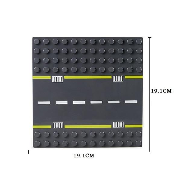 Big Size Blocks Base Plate Duploed BasePlate Large Particle Building Bricks Road 12*12 16*16 Dots DIY Block Floor Kids Toys Gift | Model Building