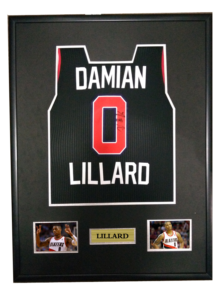 efe770cb752c Detail Feedback Questions about Lillard signed autographed basketball shirt  jersey come with Sa coa framed Trail Blazers on Aliexpress.com