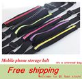 For Samsung Galaxy Note 7 J5 A5 A3 2016 J3 S7 S6 Edge/Iphone 6s 6 Plus Case Cover Mobile Phone Running Gym Sport Belt Pouch Bag