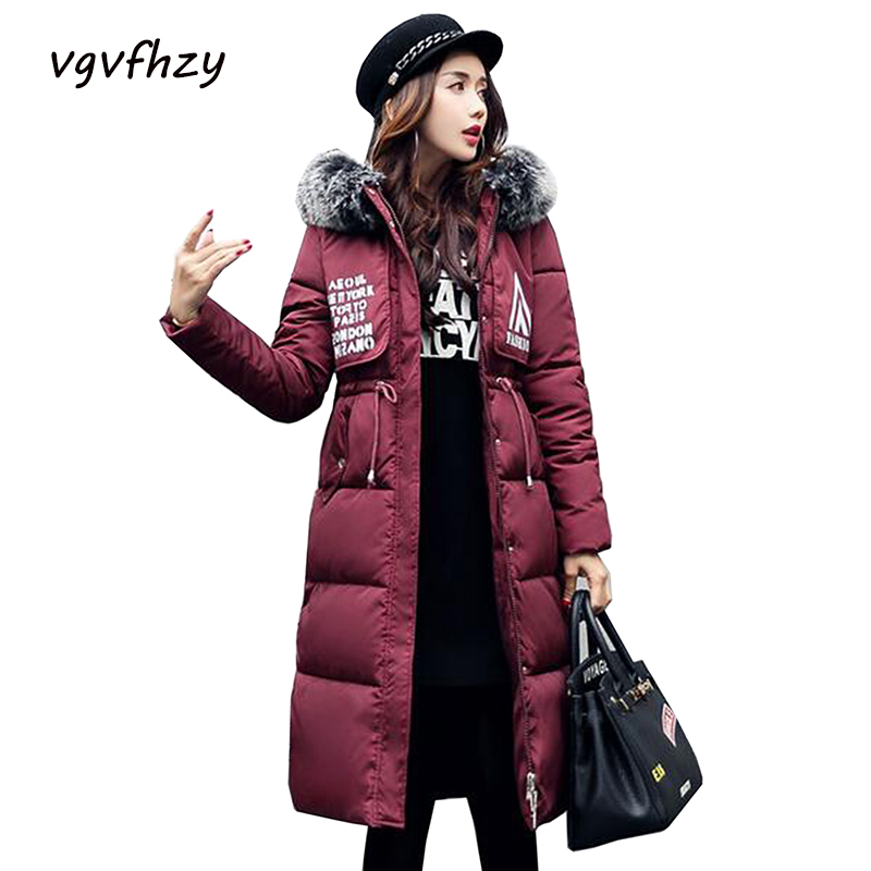 Winter Jacket Women 2017 New Fur Hooded Thickening Parka Long Coats Winter Coat Women Jaqueta Feminina Coat Plus size Outwear цены онлайн