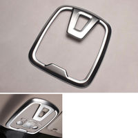 2Pcs Car Front and Rear Roof Dome Reading Light Cover Interior Moulding Trim Fit for 2014 Peugeot 408 Accessories Car StylingPsc