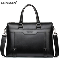 2018 New PU Leather Men Handbags Casual Business Mens Messenger Bags Fashion Men S Travel Crossbody