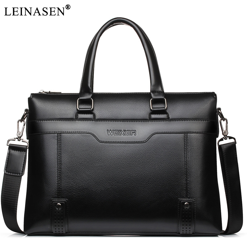 2018 New PU Leather Men handbags Casual Business Mens Messenger Bags Fashion Men's  travel Crossbody Bag men's Laptop briefcase new casual business leather mens messenger bag hot sell famous brand design leather men bag vintage fashion mens cross body bag