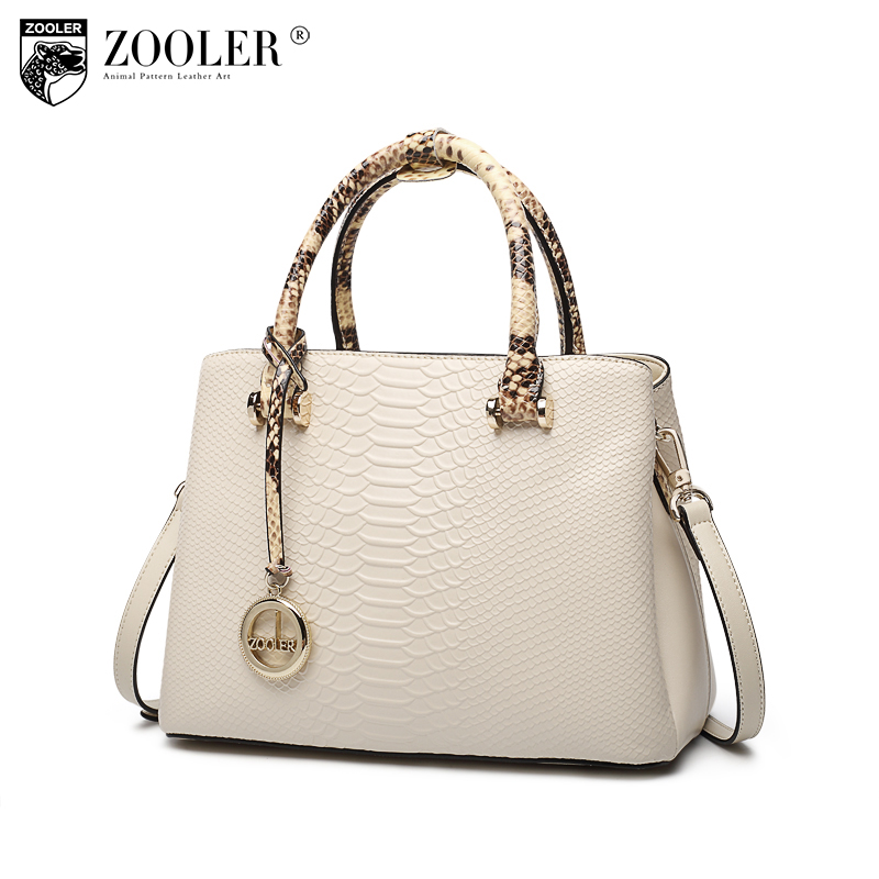 ZOOLER 2018 NEW woman leather bag handbags woman famous brand serpentine handbag bolsa feminina elegant woman bags#f102 hottest new woman leather handbag elegant zooler 2018 genuine leather bags top handle women bag brand bolsa feminina u500