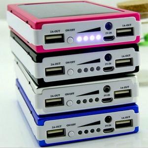 Image 2 - Dual USB LED PCBA Printplaat Solar Power Panel Home DIY Zonnepaneel Bank 18650 Batterij DIY Thuis Draagbare Oplader