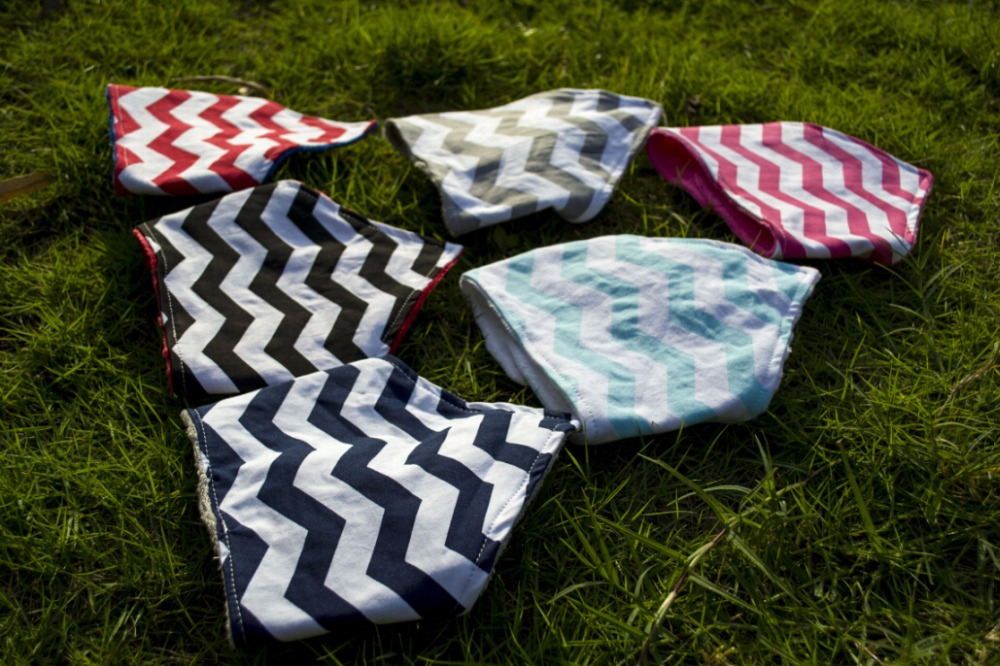 bandana baby bibs print Custom cotton baby bandana chevron minky organic cotton fancy plain sports baby bibs
