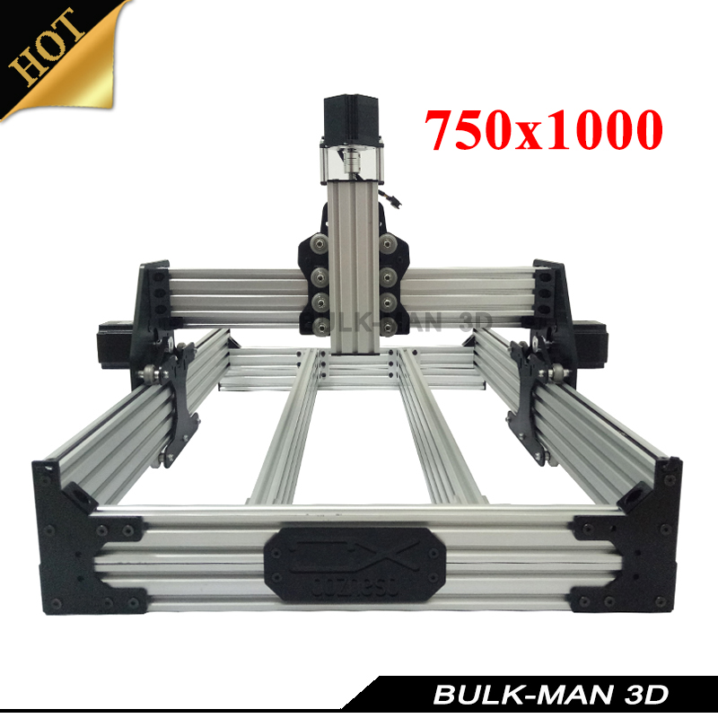OX CNC Mechanical Kit with 4pcs Nema Stepper Motor for DIY Desktop CNC Router Wood Engrave Machine 750*1000mm ox cnc mechanical kit with 4pcs nema stepper motor for diy desktop cnc router wood engrave machine 1000 1000mm