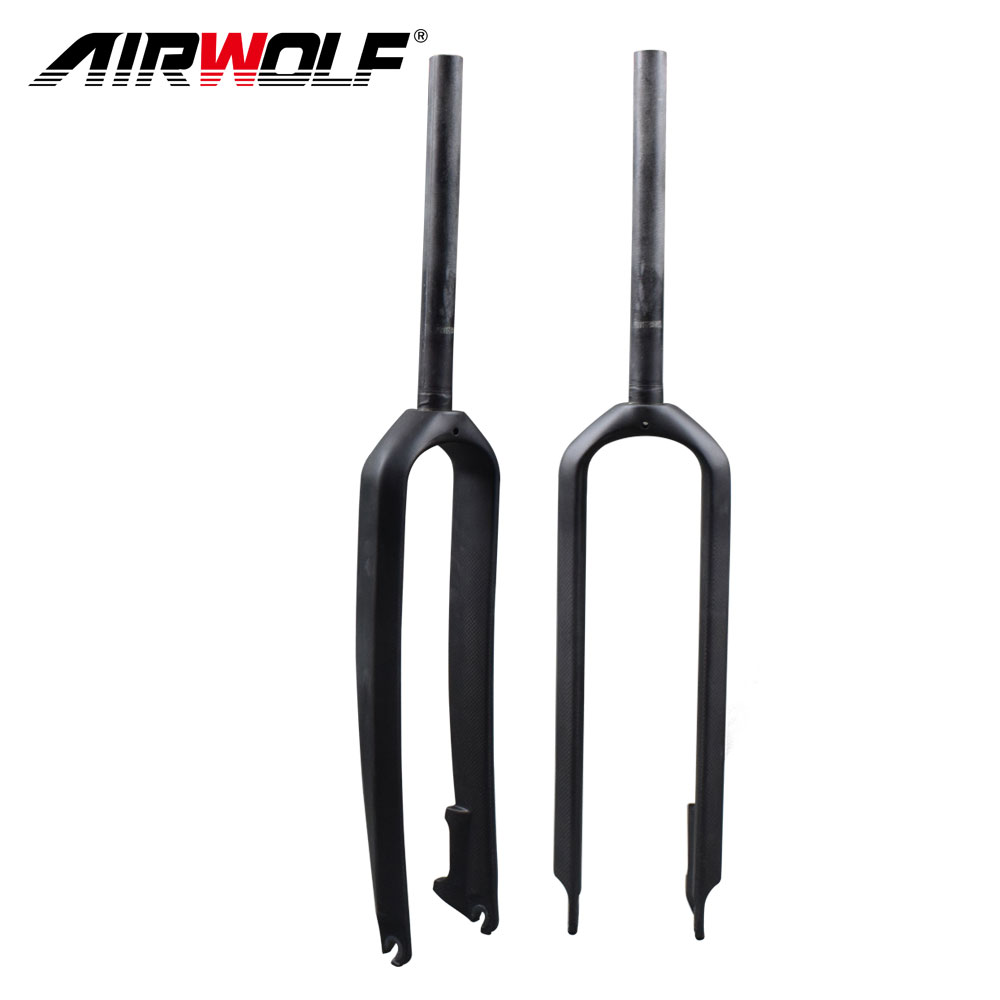 2018 New 26 27 5 29er MTB carbon fork bicicletas mountain bike straight pipe Axle size