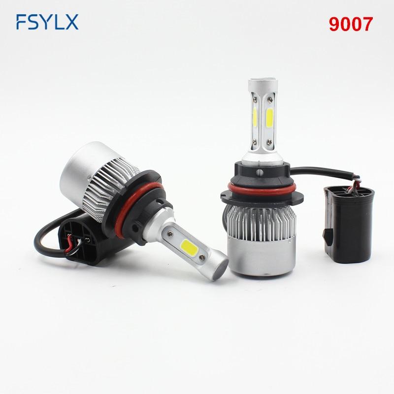 FSYLX 72W 16000lm H1 LED žarometi H1 avto LED dnevne vožnje luči - Avtomobilske luči - Fotografija 3