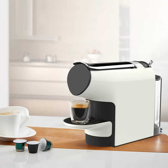 Умная энергосберегающая автоматическая капсула высокого давления, 580 мл, 1200 Вт, 19 бар, автоматическая кофеварка, эспрессо