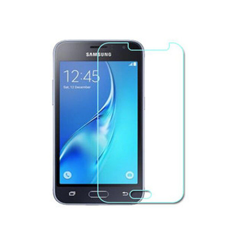 9H Screen Protector Tempered Glass For Samsung Galaxy J1 Mini (2016) / J105 / J105H 2.5D Glass Film Protection + Cleaning Tools