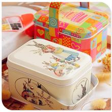 Popular Coins Metal Box Cosmetic Jewelry Storage Case Candy