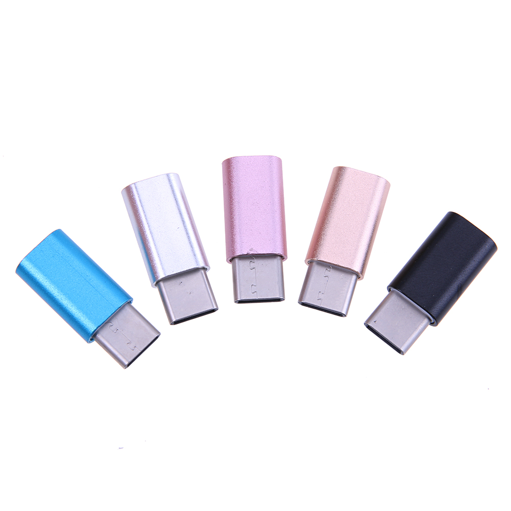Micro USB Female to USB 3.1 Type-C Male Adapter Converter Type C USB-C Data Sync Transfer Charging Connector for Phone Tablet PC купить