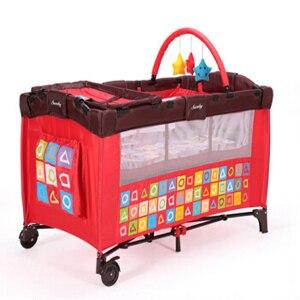 Bergerak Lipat Portabel Bayi Tidur Dilipat Bayi Playpen Anak-anak - Perabot bayi - Foto 4