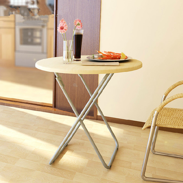 Delicieux Easy Folding Round Table Study Desk Light Portable Small Table Child  Computer Desk Shelf Stall Stall