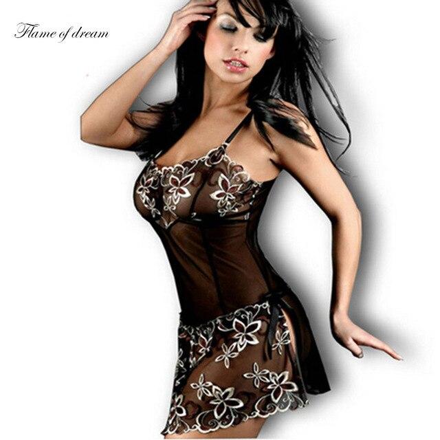 M-6XL busto de 76 cm-127 cm mulheres lingerie sexy desgaste do sono para a senhora com g corda lingerie sexy camisola das mulheres 933