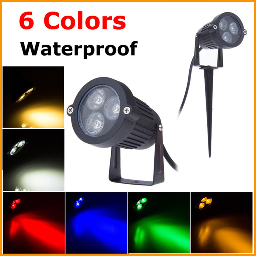 outdoor spike lights