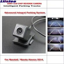 Liislee HD SONY Car Rear Camera For Mazda6 / Mazda Atenza 2014 Intelligent Parking Tracks Reverse Backup / NTSC RCA AUX