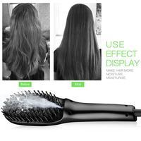XY Fancy Plug Professional Hair Brush Multi Function Electric Hair Blow Dryer Brush Hot Air Hair Curling Comb
