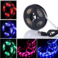 LEDGOO LED Strip 5050 LED SMD Strip Flexible Strip Light IP65 Waterproof 60 Led RGB LED Strip 5050 Colour Changing With Remote