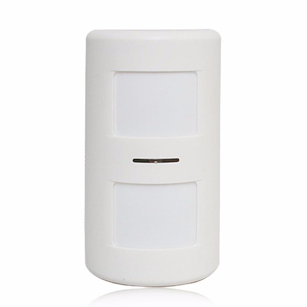 Mini Wireless Passive Infrared Detector Double Probe PIR Motion Sensor For Alarm Systems Home Security Burglar Alarm 712 5 pcs wireless glass break sensor shake detector shock sensor for home alarm systems vibrate sensor for security guard
