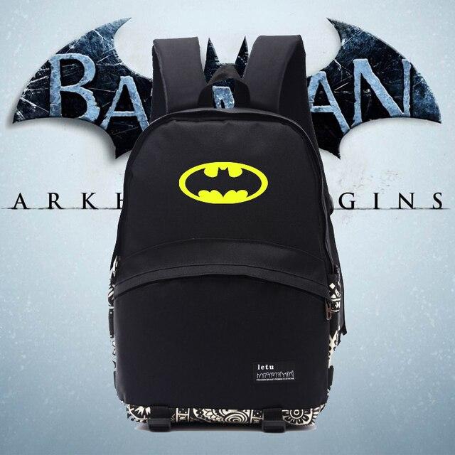 401e361829 Cool batman new backpack BATMAN backpacks nylon new good quality backpacks  school bag for students