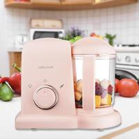 Electric Baby Food Maker Shatterproof Grinder Household Fruit Mixer Easy to Clean Power Off Device by Stirring and Cooking