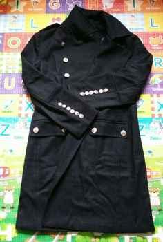 CHAOJUE デザイン男性コートやジャケット S-6XL 特大背ビッグ男性グリーンウールコートドイツ陸軍海軍エンドウコート送料無料