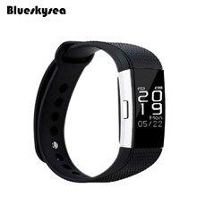 Blueskysea F2 smart bluetooth браслет сердечного ритма Мониторы спортивные часы с 4 для смартфонов умный Браслет
