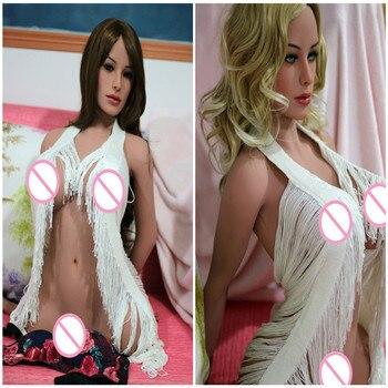85cm WMDOLL full solid silicone sex torso dolls half body torso sex doll European American face Realistic Dolls Adult Sex Toys