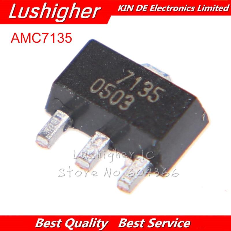 10pcs L7135 SOT89 AMC7135 7135 SOT SMD