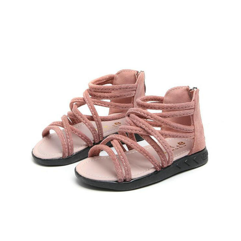 2019 New Summer Baby Girls Sandals Roman Style Children Sandals Soft bottom Fashion Student Shoes Infant Shoes Size 21-362019 New Summer Baby Girls Sandals Roman Style Children Sandals Soft bottom Fashion Student Shoes Infant Shoes Size 21-36