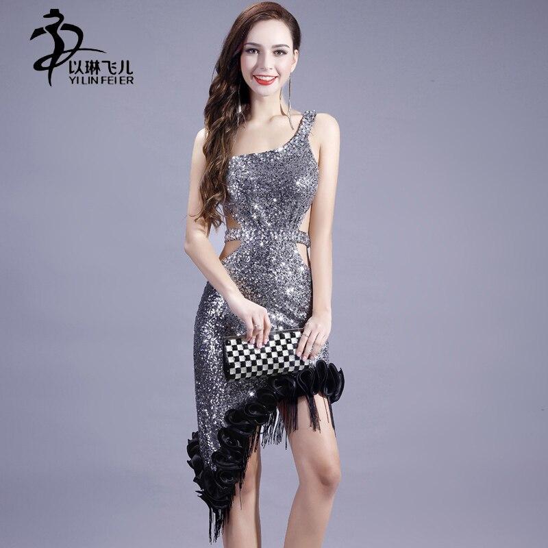 Customs-made Beads sleeveless standard competition Latin dress for women sexy performance Ballroom Salsa Dance Dress for ladies