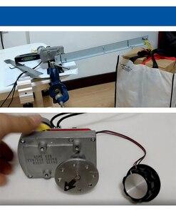 Image 5 - ASME 04B Ad alta potenza Ad alta coppia Servo Dello Sterzo 380Kg. cm DC 12 24 V Grande Manipolatore Robotico per Robot Braccio Meccanico XZ0033
