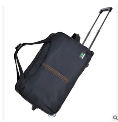 Brand Cabin Luggage Bag Rolling Suitcase Trolley Travel Bag On Wheels For Women Men Travel Duffle Oxford Wheeled Travel Bag
