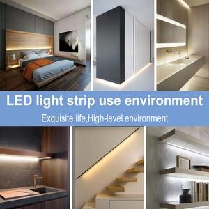 Image 5 - WENNI noc światło na czujnik ruchu taśmy LED wodoodporna USB telewizor LED z dostępem do kanałów taśma oświetlająca wstążka LED