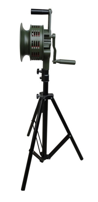 SY-200L Hand Operated Sirens With Tripod Set ,Portable Civil Defense Sirens sweet years sy 6128l 21