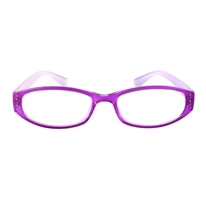 Gmei Optische Voguish Brille Lila Vollrand Kunststoff Brillen Rahmen ...