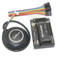 APM 2,8 ArduPilot Mega внешний компас APM Полет контроллер встроенный компас с Ublox NEO-7M gps для FPV RC беспилотный самолет