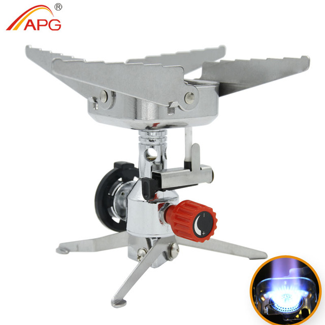 APG Camping Outdoor Stove and Portable Foldable Gas Burners