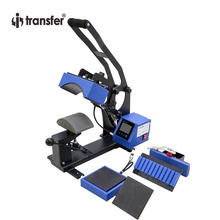 i-transfer 3 in 1 Combo Cap,Pen & Logo Heat Press Machine LCD Touch Screen Controller Printer HPM-45A(China)